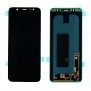 Ecran LCD ORIGINE officiel service pack Samsung Noir A6+ 2018 - Kit Outils OFFERT GH97-21878A