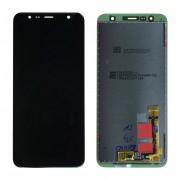 Ecran LCD ORIGINE officiel service pack Samsung Noir J4+ / J6+ 2018 - Kit Outils OFFERT