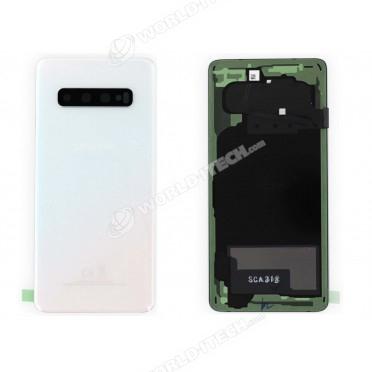 Vitre arrière Noir OFFICELLE Samsung Galaxy S10 SM-G973F GH82-18378F