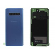 Vitre arrière bleu OFFICELLE Samsung Galaxy S10 SM-G973F GH82-18378C