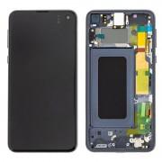 Ecran sur chassis Noir OFFICIEL origine service pack Samsung S10E SM-G970F - Kit Outils OFFERT