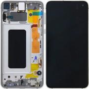 Ecran sur chassis Blanc OFFICIEL Samsung S10E SM-G970F - Kit Outils OFFERT