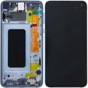 Ecran sur chassis Noir OFFICIEL origine service pack Samsung S10E SM-G970F - Kit Outils GH82-18852C