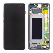 Ecran AMOLED ORIGINE Samsung Noir S10+ SM-G975F - Kit Outils OFFERT GH82-18849A / GH82-18834A