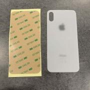 Vitre face arrière blanc avec adhésif iPhone XS max qualité origine