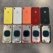 Chassis avec vitre arrière iPhone XR Noir / Blanc / Bleu / Jaune / Corail / Rouge - KIT OUTILS OFFERTS
