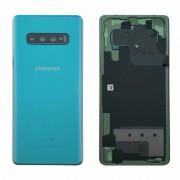 Vitre arrière VERT OFFICELLE Samsung Galaxy S10 Plus SM-G975F GH82-18406E