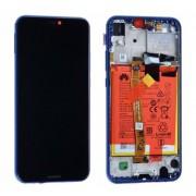 Ecran OFFICIEL Huawei Bleu avec chassis P20 Lite - Kit Outils OFFERT 02351XUA