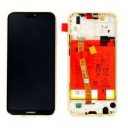 Ecran OFFICIEL Huawei or avec chassis P20 Lite - Kit Outils OFFERT 02351WRN