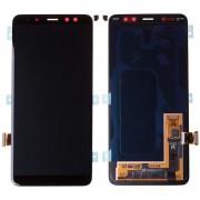 Ecran OFFICIEL Samsung Noir A8 2018 - Kit Outils OFFERT SM-A530F. GH97-21406A service pack