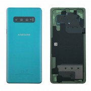 Vitre arrière VERT COMPATIBLE Samsung Galaxy S10 Plus SM-G975F GH82-18406E
