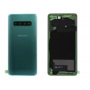 Vitre arrière vert prisme COMPATIBLE Samsung Galaxy S10 SM-G973F GH82-18378E