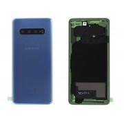 Vitre arrière bleu COMPATIBLE Samsung Galaxy S10 SM-G973F GH82-18378C