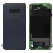 Vitre arrière Noir COMPATIBLE Samsung Galaxy S10 SM-G973F GH82-18452A