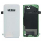 Vitre arrière blanc COMPATIBLE Samsung Galaxy S10E SM-G970F GH82-18452F