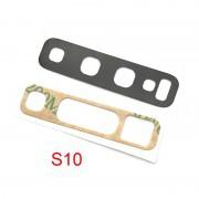 Lentille vitre objectif appareil photo caméra arrière S10 / S10+ Samsung SM-G973F  SM-G975F