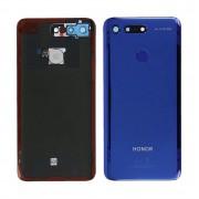 Vitre arrière Bleu Saphir OFFICIELLE Honor View 20 PCT-L29 02352LNS