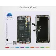 Patron aimanté guide range vis iPhone XS Max