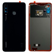 Vitre arrière Midnight Black (Noir)  OFFICIELLE Huawei P30 Lite 02352RPV MAR-LX3A