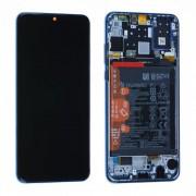 Ecran OFFICIEL Huawei Bleu avec chassis P30 Lite - Kit Outils OFFERT