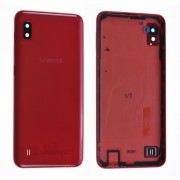 Coque arrière Rouge COMPATIBLE Samsung Galaxy A10 SM-A105F