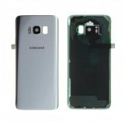 Vitre arrière Argent COMPATIBLE Samsung Galaxy S8 SM-G950F