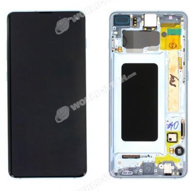 Ecran AMOLED ORIGINE Samsung bleu S10+ SM-G975F - Kit Outils OFFERT GH82-18849C