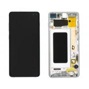 Ecran AMOLED ORIGINE Samsung bleu S10+ SM-G975F - Kit Outils OFFERT GH82-18849B / GH82-18834B