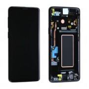 Ecran ORIGINE Samsung Noir avec chassis S9 SM-G960F - Kit Outils OFFERT GH97-21691A / GH97-21692A