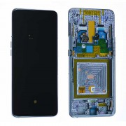 Ecran sur chassis Noir OFFICIEL Samsung A50 SM-A505F - Kit Outils OFFERT GH82-19204A / GH82-19713A / GH82-19714A