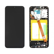 Ecran sur chassis Noir OFFICIEL Samsung A10 SM-A105F - Kit Outils OFFERT GH82-20227A