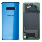 Vitre arrière Bleu prisme OFFICIELLE Samsung Galaxy S10E SM-G970F GH82-18452C