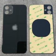 Vitre face arrière noir avec adhésif iPhone 11 qualité origine