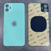 Vitre face arrière vert avec adhésif iPhone 11 qualité origine