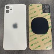 Vitre face arrière blanc avec adhésif iPhone 11 qualité origine