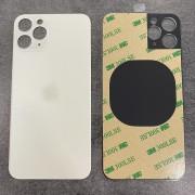 Vitre face arrière Argent Blanc avec adhésif iPhone 11 Pro qualité origine