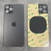 Vitre face arrière Gris Sidéral avec adhésif iPhone 11 Pro Max qualité origine