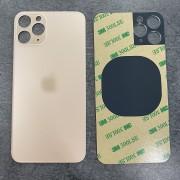 Vitre face arrière Or avec adhésif iPhone 11 Pro Max qualité origine