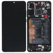 Ecran OFFICIEL Huawei noir avec chassis P30 - Kit Outils OFFERT 02352NLL