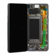 Ecran AMOLED ORIGINE Samsung Noir Infinity-O S10 SM-G973F - Kit Outils service pack officiel GH82-18850A