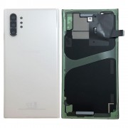 Vitre arrière blanche origine officielle Samsung Galaxy Note 10 Plus SM-N975F GH82-20588B
