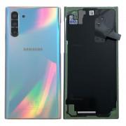 Vitre arrière argent aura glow origine officielle Samsung Galaxy Note 10 SM-N970F GH82-20528C