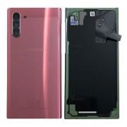 Vitre arrière rose pink origine officielle Samsung Galaxy Note 10 SM-N970F GH82-20528F