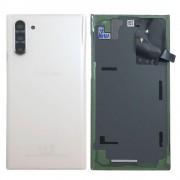 Vitre arrière blanc origine officielle Samsung Galaxy Note 10 SM-N970F GH82-20528B