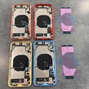 Chassis vitre arrière complet prémonté iPhone XR - KIT OUTILS OFFERTS