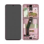 Ecran super AMOLED ORIGINE Samsung rose S20 SM-G980F - Kit Outils service pack officiel GH82-22131C