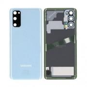 Vitre arrière bleu OFFICIELLE Samsung Galaxy S20 SM-G980F GH82-22068D