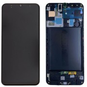 Ecran sur chassis Noir OFFICIEL Samsung A71 SM-A715F - Kit Outils OFFERT GH82-22152A
