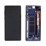 Ecran sur chassis bleu OFFICIEL Samsung Note 9 SM-N960F - Kit Outils OFFERT GH97-22269B / GH97-22270B