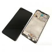 Ecran sur chassis Noir OFFICIEL Samsung A21s SM-A217F - Kit Outils OFFERT GH82-22988A